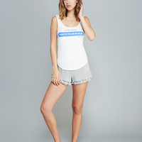 Head In the Clouds Text Tank | Wet Seal