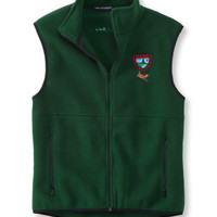 Maine Inland Fisheries and Wildlife Fleece Vest, White-Tailed Deer: Outerwear | Free Shipping at L.L.Bean