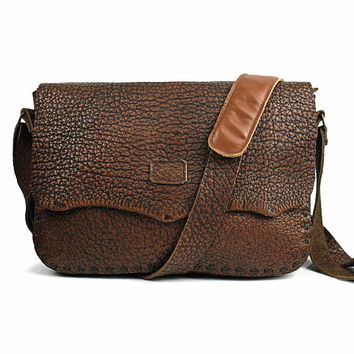 "12"" New Macbook Laptop Bag, Leather Briefcase, Messenger Bag, School Shoulder Bag With Magnet Closure, 2W499"