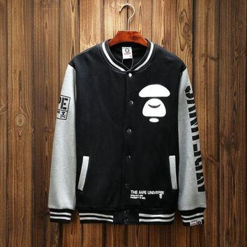 VONL8T BAPE' Sports Hot Deal On Sale Couple Winter Patchwork Baseball [211446398988]