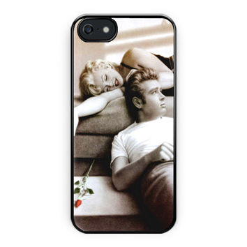 James Dean And Marilyn Monroe iPhone 5/5S Case