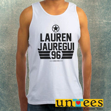 Lauren Jauregui Fifth Harmony Clothing Tank Top For Mens
