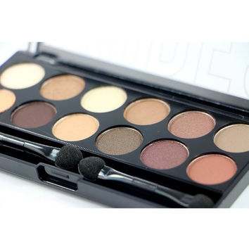Nudes Colors Eyeshadow Beauty Cosmetic Makeup Palette Set - City Color