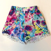 Printed Beach Summer Shorts