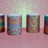 Missoni Votive Candles