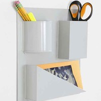 Assembly Home Geo Wall Bin- Grey One
