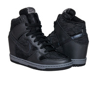 NIKE DUNK SKY HIGH WEDGE SNEAKER - Black | Jimmy Jazz - 528899-015
