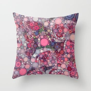 :: Pink Constellation :: Throw Pillow by :: GaleStorm Artworks ::
