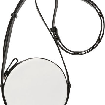 Diane von Furstenberg - Circle two-tone leather shoulder bag