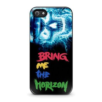 electric skull bone iphone 5 5s se case cover  number 1