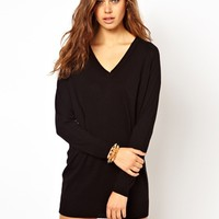 ASOS Fine Knit Sweater Dress