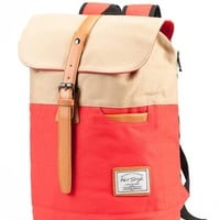 Hotstyle 902s Classic Canvas Vintage Fashion Unisex Rucksack Laptop Backpack Daypack Shoulder Bag Pack (24L) For School Camping Travel Fits Acer Aspire, MacBook, Chromebook, iPad (khaki)
