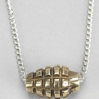 Lovebullets Gold Mini Grenade Necklace - Urban Outfitters