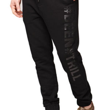 Been Trill Black And White Trill Jogger Sweatpants at PacSun.com