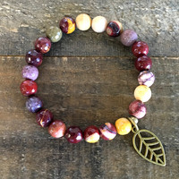 Faceted Mookaite 'Forever Young' Bracelet