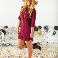 Collared pocket dress-more colors
