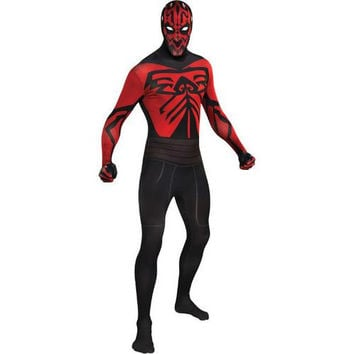 Costume Morphsuit: Darth Maul Skin Suit | Large