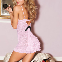 The Lacie Bustle-back Slip - Sexy Little Things - Victoria's Secret