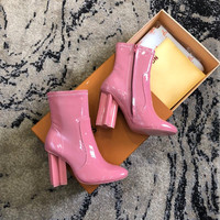 Louis Vuitton LV Silhouette Ankle Boot
