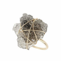 Stone Wrap Ring - Clear