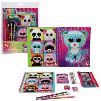 Ty Beanie Boos 11Pc Stationery Set - CASE OF 12