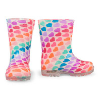 Toddler Girls Heart Print Light-Up Rainboot | The Children's Place