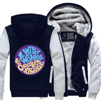 Willy Wonka And The Chocolate Factory, Dragon And Dungeon Fleece Jacket