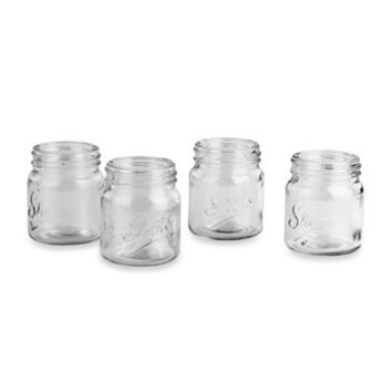 Mason Jar Shot Glasses (Set of 4)