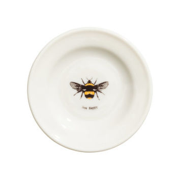 H&M Porcelain Plate with Motif $2.99