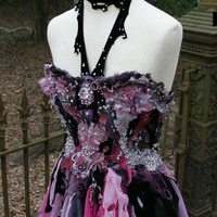 Magical Corseted Fantasy Fairy Vampire Dress