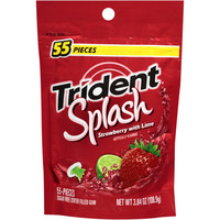 Walmart: Trident Splash Strawberry with Lime Sugar Free Gum, 55 count, 3.84 oz