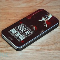 Eminem Quotes Wallet Case for iPhone 4, 4S, 5, 5S, 5C, 6, 6 Plus, 7 and Samsung Galaxy S3, S4, S5, S6, S7