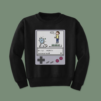 Rick and Morty Crew - Retro Sweatshirt