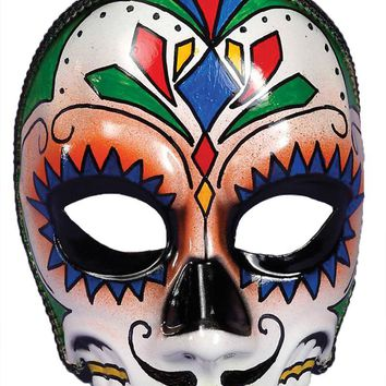Day Of Dead Male Mask Horror Haunted scary Halloween