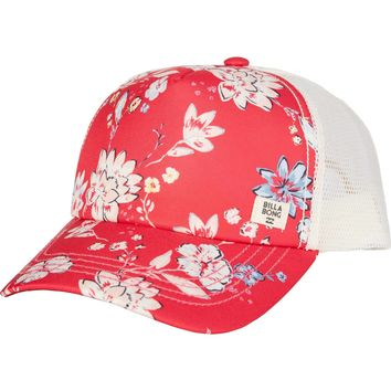 Billabong Girls - Livin It Up Trucker Hat | Cherry Lips