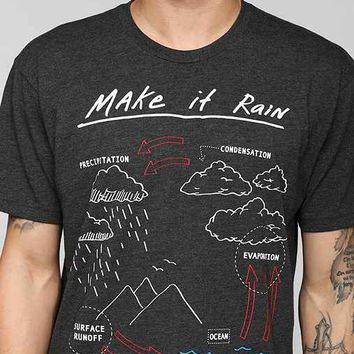 Riot Society Make It Rain Tee- Charcoal