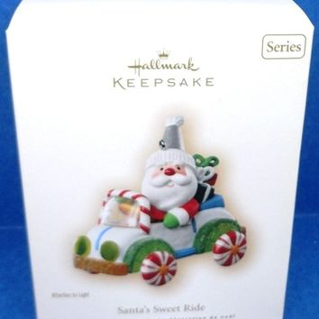 2007 Santa's Sweet Ride Hallmark Retired Series Ornament