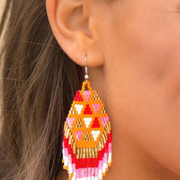 Bright & Beautiful Earrings | Monday Dress Boutique