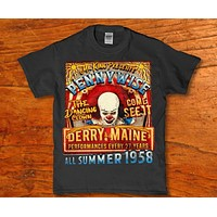 Mr king presents Pennywise the dancing clown - all summer 1958 unisex t-shirt