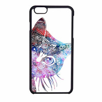 Aztec Cat In Rainbow Color iPhone 6 Case