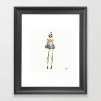 Babydoll Framed Art Print by Allison Reich