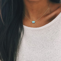 Mint Ella Necklace