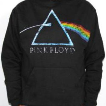 Pink Floyd Pull Over Hoodie - DSOM Distressed