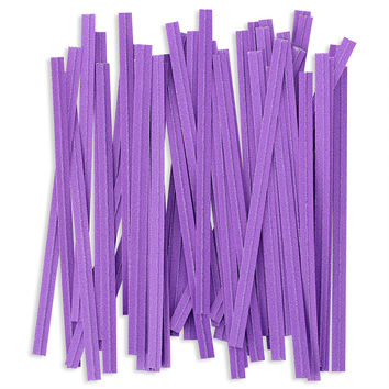 Purple Paper Twist Ties