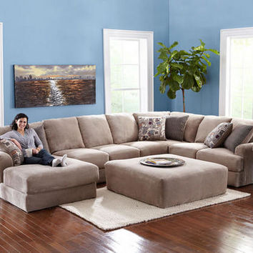 Malibu 3 Pc. (Reverse) Sectional - Sectionals - Living Room - mobile - theroomplace - Product Groups