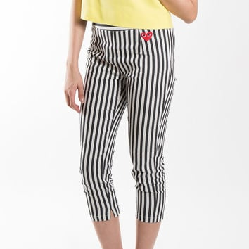 Vertical Stripe Pants