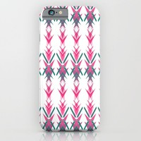 Pink Dart iPhone & iPod Case by ALLY COXON