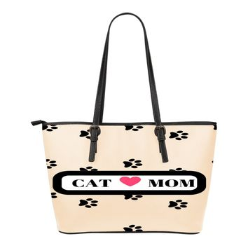 *Attention Cat Moms* Turn your Leather Tote Bag into a Unique Piece of Purrrfect Paw Art!