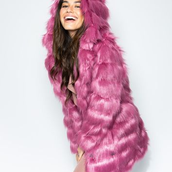 Rose Finch Collector Edition Faux Fur Coat