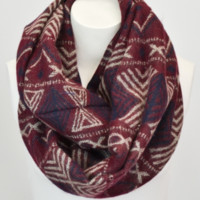 Tribal Blanket Infinity Scarf | She's So Moxie, Online Women's Clothing Boutique